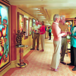Star Princess, People in Art Gallery
