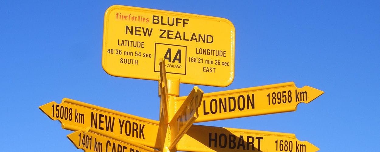 bluff-sign-new-zealand
