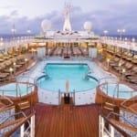 Regent Seven Seas Navigator Pool Deck Cruise