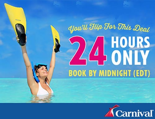 24 Hour Sale from Carnival