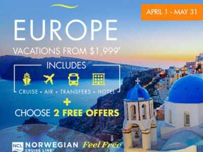 NCL Europe Cruise Deal