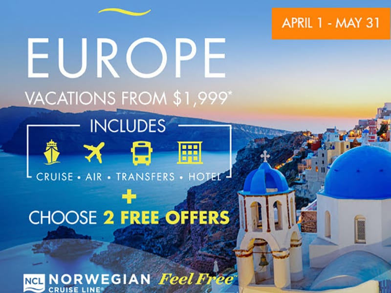Ncl Limited Time Europe Cruise Amp Travel Depot
